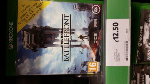 Star Wars Battlefront Xbox One Instore Tesco £12.50