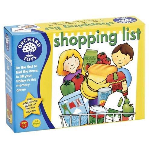 orchard shopping list £2.64 @ Tesco (free C&C)