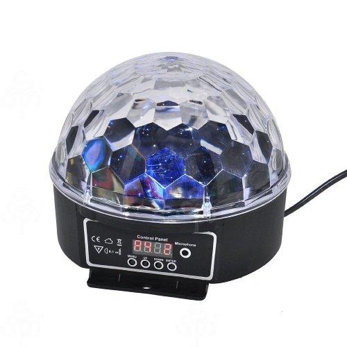 LED RGB Crystal Magic Ball Effect light DMX Party Disco DJ Stage Lighting £10.99 @ RSS Shop / Ebay