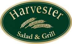 Steak or Ribs with Wine/Beer and Unlimited Salad for 2 at Harvester potentially £4.50 with voucher code / TCB £20 @ Groupon