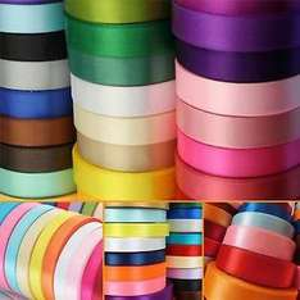 Double Sided Satin Ribbon. 23 metre rolls. £1.59 @ Wholesale Ribbon U / Ebay
