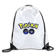 Pokemon GO!! Drawstring Bag - sold by Directdiscs2014 via eBay - £2.59 delivered