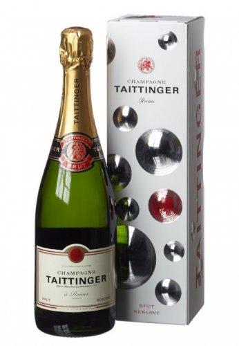 Taittinger Brut Reserve Non Vintage Gift Box 75 cl - £25.40 @ Amazon