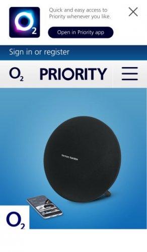 Get 50% off Harman Kardon Onyx 3 Speaker online - O2 Shop - O2 Priority £99.99