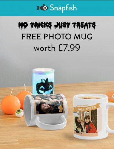 Free 11oz Personalised Photo Mug (norm £7.99) + £2.99 (delivery) @ Snapfish