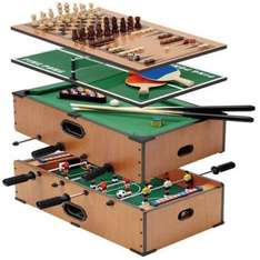 5 in 1 games table football, ping pong, backgammon, chess, pool table £22.99 delivered @eBay sold buy pink_and _blue_gifts1