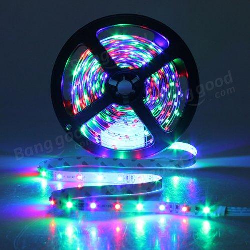 300 RGB Color LED 5m strip @ Banggood