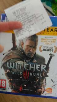 The witcher 3 GOTY Ps4/Xbox one £19.99 at Game