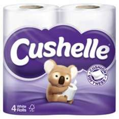 Cushelle Toilet Roll 40 Pack £9.58 (incl VAT) 24p per roll  31/10 - 21/11 offer at Costco