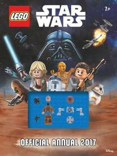 The Official Lego® Star Wars Annual 2017 (Amazon Prime £3.49 / Non Prime £6.48 Del)