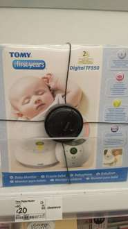 Tomy the first years TF550 Digital Baby Monitor was £60 now £20 @ Asda living