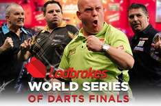 Free tickets to World Series of Darts Finals, Braehead Arena