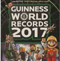 Guinness World Records gamers edition 2017 £4.99 Amazon Prime (spend £10 for free delivery books non prime members)