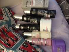 Umberto Giannini hair products reduced to £1 each (normally around £6 each) and on 3 for 2 at boots in Lincoln