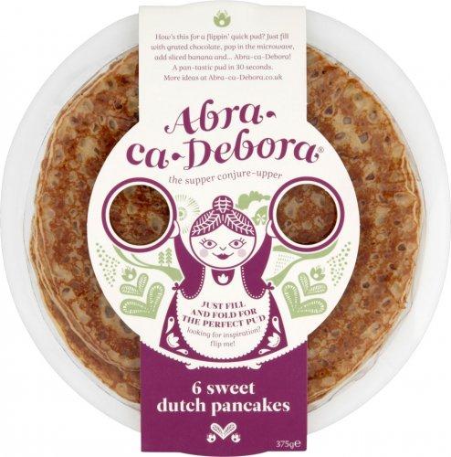 Abra-Ca-Debora Sweet Dutch Pancakes 6 x 62.5g was £1.63 now £1.00 @ Morrisons