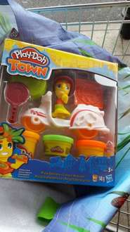 Playdoh Town Pizza delivery at Sainsbury's for £2.75