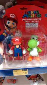 large Mario figure twin pack £5.99 at B&M bargains