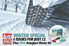 *Expired* Auto Express 6 issues for £1 + Free Autoglym Winter Kit