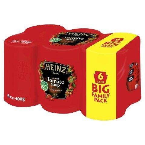 Heinz tomato soup 6pk £1.99 @ Aldi