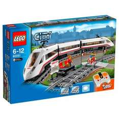 Lego City High Speed Train AND Train Station £86.98 using code TS20 @ Smyths Toys
