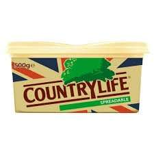 Country Life British Spreadable (500g) was £2.75 now £1.75 @ Iceland