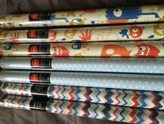 Tesco - Slough Wrapping Paper 2m Rolls 25p Each and Part of the 3 for 2