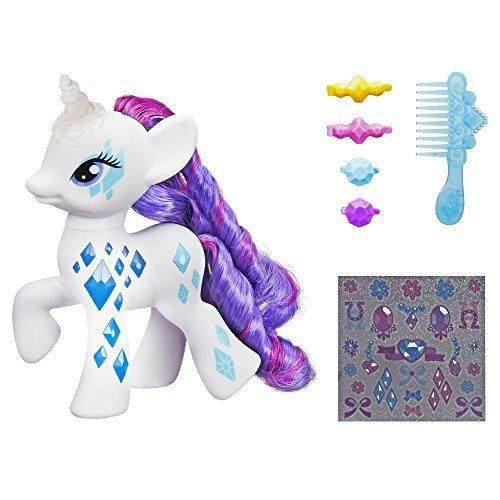 My Little Pony Cutie Mark Magic Glamour Glow Rarity Figure - Multi-Colour £14.99 prime / £18.98 non prime @ Amazon