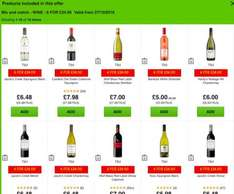 Asda 6 bottles of wine for £24