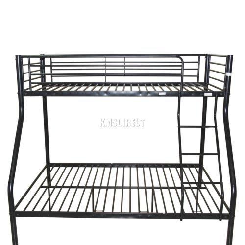 Lowest price ever foxhunter triple metal bunk bed frame in white, black or silver £89.90 delivered @eBay seller Mantrading ltd