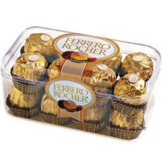 Ferrero Rocher 16 pieces £3.50 @ Superdrug (free C&C or free delivery w/ BeautyCard)