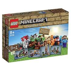 Lego Minecraft Crafting Box only £29.99 @ Amazon (rrp £50 - Prime members only)