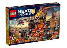 LEGO 70323 Nexo Knights Jestro's Volcano Lair Construction or at Smyths Toy Superstore with code