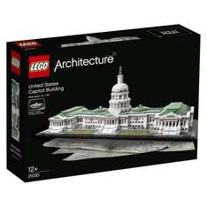LEGO Architecture 21030 United States Capitol Building Building Set at Amazon for £59.97
