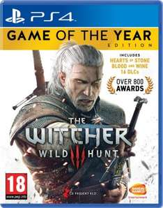 The Witcher 3 Game of the Year Edition PS4 / Xbox One @ Amazon for £24