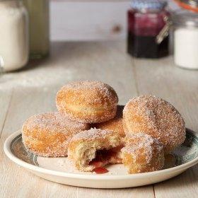 5pk Jam or Custard Donuts 50p @ Asda