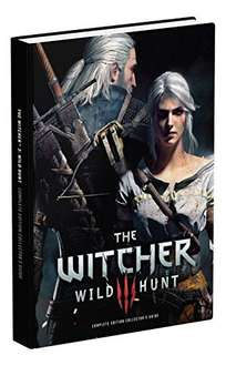 The Witcher 3: Wild Hunt (Collectors Edition) Hardcover Book £5.83 Prime £8.82 with postage