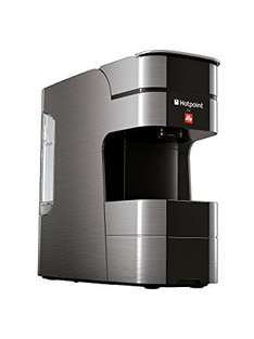 Hotpoint Illy 19 bar pressure compact coffee machine choice of 3 colours rrp £123.99 now £29.99 delivered @ Groupon