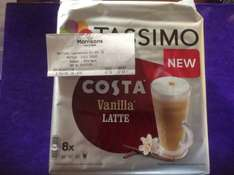 Tassimo Costa Vanilla Latte reduced to clear - £1.50 at Morrisons, Watford  Not sure if national.