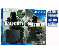 ps4slim 1tb with cod infinite warfare £299.99 @ Argos
