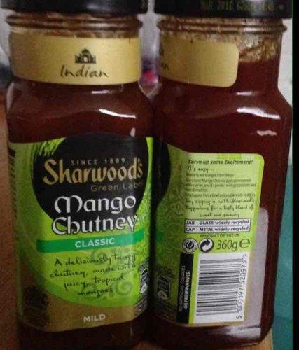 Sharwood's Mango Chutney £1 for 360g @ Sainsbury's