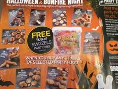 Free Tub of Swizzels Party Mix Sweets When You Buy X3 £3.00 Packs Of Party Food @ Iceland