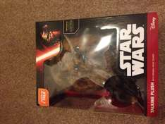 Star Wars talking chewbacca plush reduced to £15 from £50 at Sainsbury's