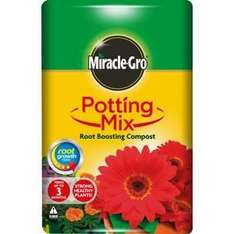 Miracle Gro Potting Mix Compost 40litre INSTORE ONLY £1 @ Homebase