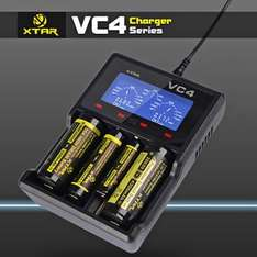 XTAR VC4 Battery Charger £15.70 @ Gearbest