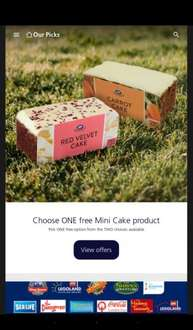 Free cake slice at boots with O2 Priority choose 1 of red velvet or carrot cake