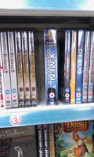 x-men 1 and 2 double pack movie boxset £1 @poundland