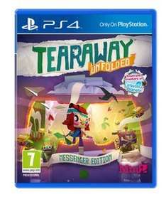 Tearaway Unfolded: Messenger Edition - Only at GAME (PS4) £9.99 Delivered @ GAME