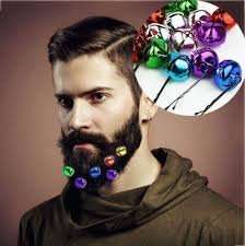 10 Christmas beard bells / baubles to bling up your festive facial hair £2.74 delivered @eBay sold by uk-de-blades