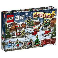 3 for 2 On Selected Advent Calendars inc Lego / Hot Wheels & Playmobil @ Tesco Direct