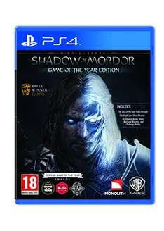 Middle-Earth: Shadow of Mordor - Game of The Year Edition (PS4/XO) £12.95 Delivered @ Base